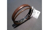 Bracciale Wendestein in coccodrillo mm 175