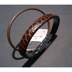 Bracciale Wendestein in coccodrillo mm 195
