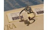 Anello Acqua Marina oro bianco