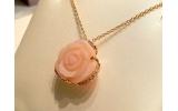 Collana oro rosè Opale