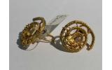 Orecchini Serpente spirale Aztechi L.A. Cano