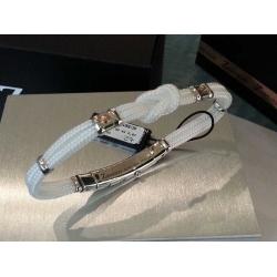Bracciale Zancan argento tessuto