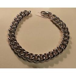 Bracciale groumette argento