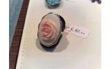 Anello Rosa di Conchiglia Strobus