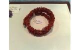 Bracciale a spirale in corallo sardo