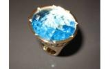 Anello REBECCA Iolite Bronzo Gold