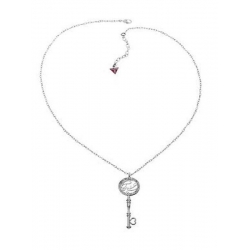 Collana Guess silver con charm a chiave